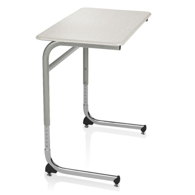 ADA Adjustable Height Cantilever Hard Top Desk