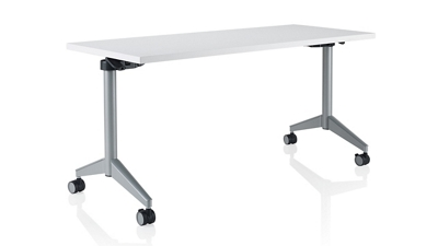 "Rectangular Flip-Top Training Table - 72""W x 30""D"