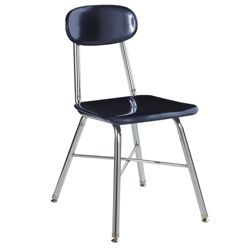 "Student Chair for Second to Fourth Grade - 16""H Seat"
