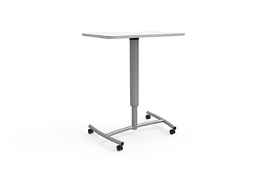 """Adjustable Height Mobile Lectern - 30""""Wx20""""D"""