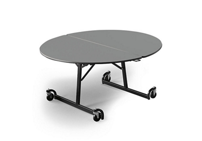 "48"" Round Folding Cafeteria Table with T-Leg"