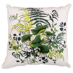 """kathy ireland by Nourison Lily Pad Square Pillow - 20"""" x 20"""""""