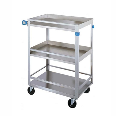 """Lakeside 24""""x16"""" Utility Cart with Guard Rails and"""