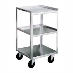 "Lakeside 19""x17"" Mobile Three Shelf Equipment Stan"