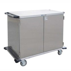 "Lakeside 48""x54"" Stainless Steel Closed Case Cart"