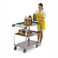 "Lakeside 35""x21"" Utility Cart Supports 500 lbs."