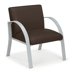 Oversize Antimicrobial Vinyl Guest Chair