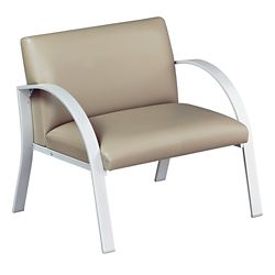 Symphony Bariatric Antimicrobial Vinyl Guest Chair