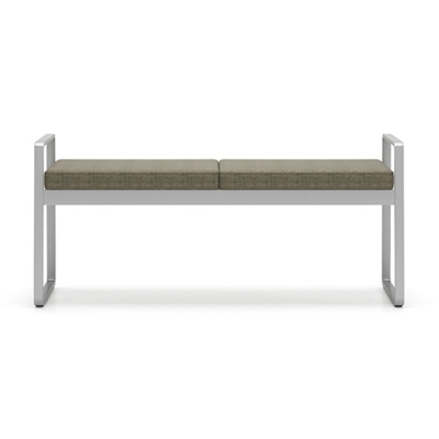 Sumac Fabric Two Seat Bench