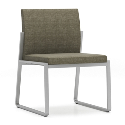 Sumac Fabric Armless Guest Chair