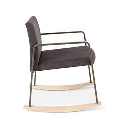 Sumac Fabric Rocking Guest Chair