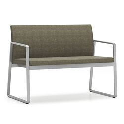Foundry Fabric Two Seat Loveseat