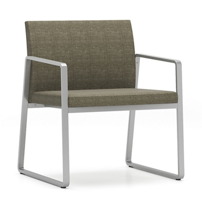 Sumac Fabric Oversized Guest Chair