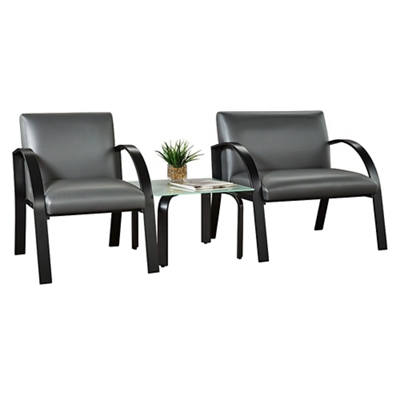 Symphony 3 Piece Set with Oversized Chair
