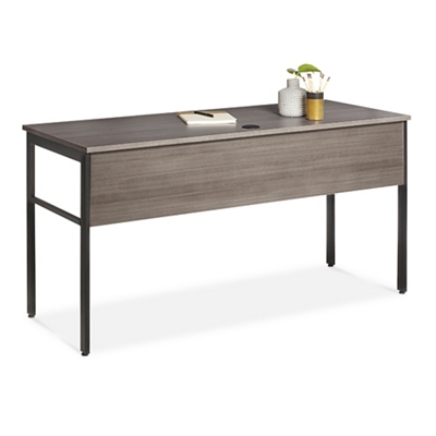 "Simple Assembly Table Desk - 60""W x 24""D"