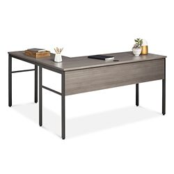 "Simple Assembly L-Desk - 60""W x 60""D"
