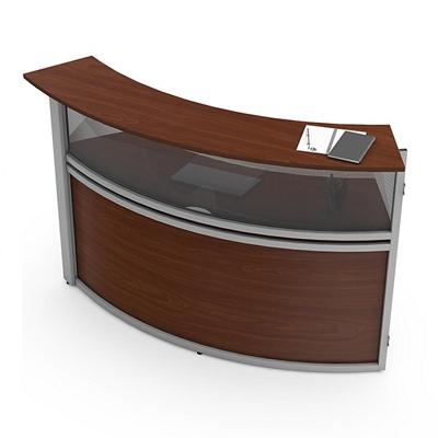 Magellan Reception Desk Add-On with Plexiglass Panel