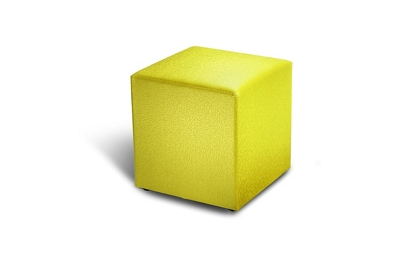 "Cube Pediatric Ottoman - 18""H"