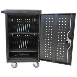 30 Tablet Steel Charging Cart