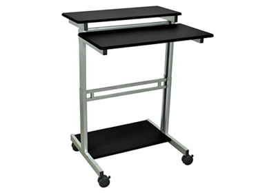 "Alderholt Adjustable Height Mobile Workstation- 31.5""W"