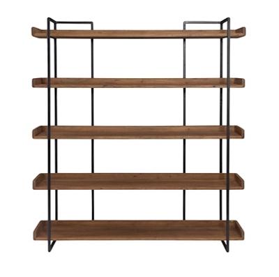 "Five Shelf Bookcase Large - 75.5""H"