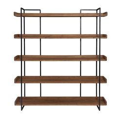 "Five Shelf Bookcase Large - 75.5""H"