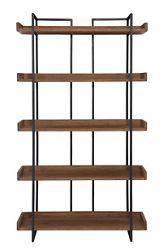 """Five Shelf Bookcase Small -75.5""""H"""