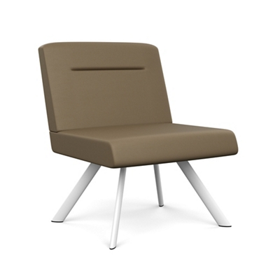 Willow Designer Armless Bariatric Guest Chair