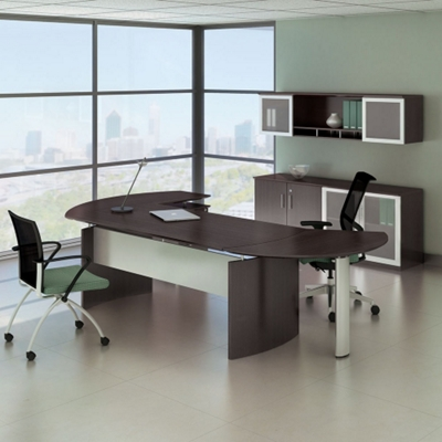 "Complete Contemporary L-Desk Office Set - 116""W x 63""D"