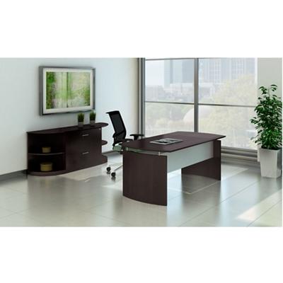 Contemporary Executive Desk Suite