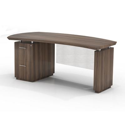 "Left File Pedestal Desk with Modesty Panel - 66""W"