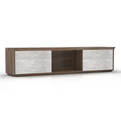 "Wall Hutch with Acrylic Doors - 66""W"