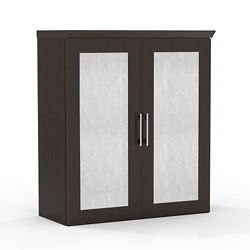 "Above Surface Acrylic Door Storage Cabinet - 36""W"