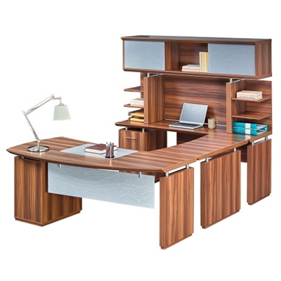 "Left Executive U-Desk with Hutch - 72""W"