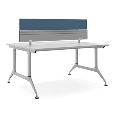 """Dual-Sided Two Person Workstation with Divider - 60""""W x 48""""D"""