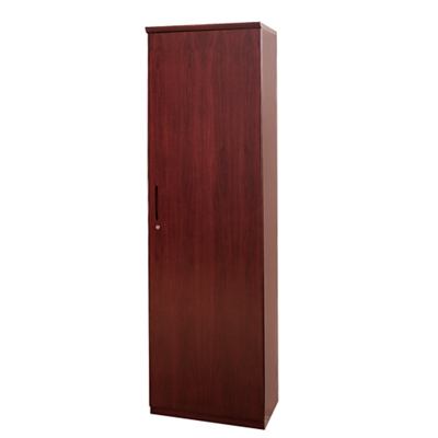 Storage Cabinet with Clothing Rod