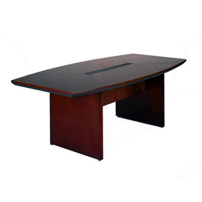 Boat Shape Conference Table - 6' x 3'