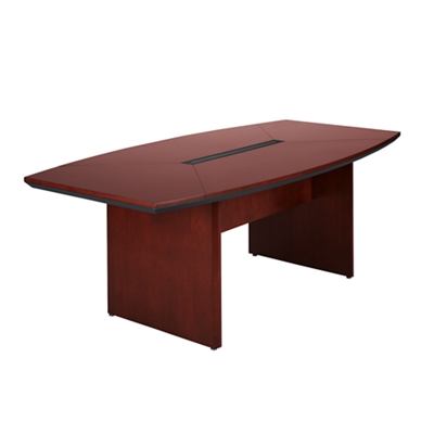 Boat Shape Conference Table - 8' x 3'6""