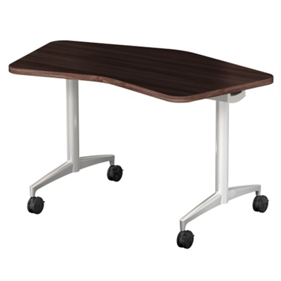 "Mobile Flip Top Nesting Transition Table - 48""W x 24""D"