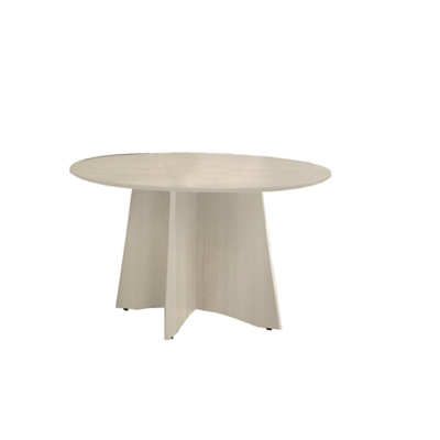 "Round Contemporary Conference Table - 48"" Diameter"