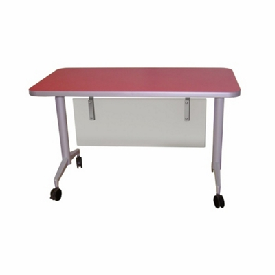 "Mobile Flip Top Nesting Table - 60""W x 30""D"