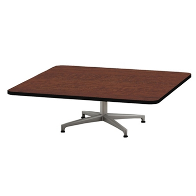 "Shown in 48"" square table"