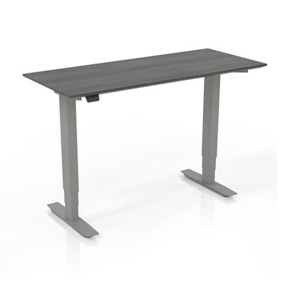 """Height Adjustable Compact Tall Table Desk - 24.5"""" to 50""""H"""