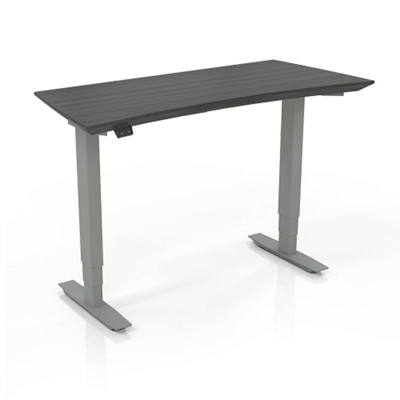 """Height Adjustable Compact Tall Table Desk - 48""""W"""