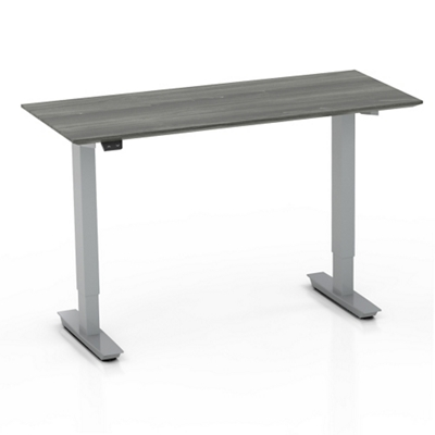 "Height Adjustable Compact Table Desk - 28"" to 47.6""H"