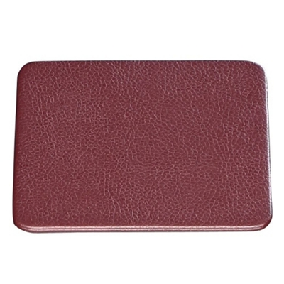 """Set of 4 Faux Leather Coasters - 4.5""""W x 4.5""""H"""