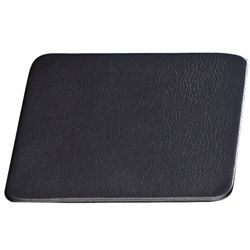"Set of 4 Leather Coasters - 4.5""W x 4.5""H"