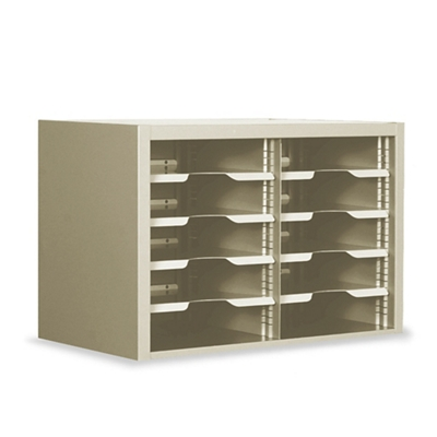"Sorter with Adjustable Shelves, 24""W"