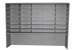"""35 Fixed Sorter with Riser, 60""""W"""