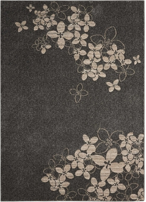 """Graphic Floral 3'10"""" x 5'10"""""""